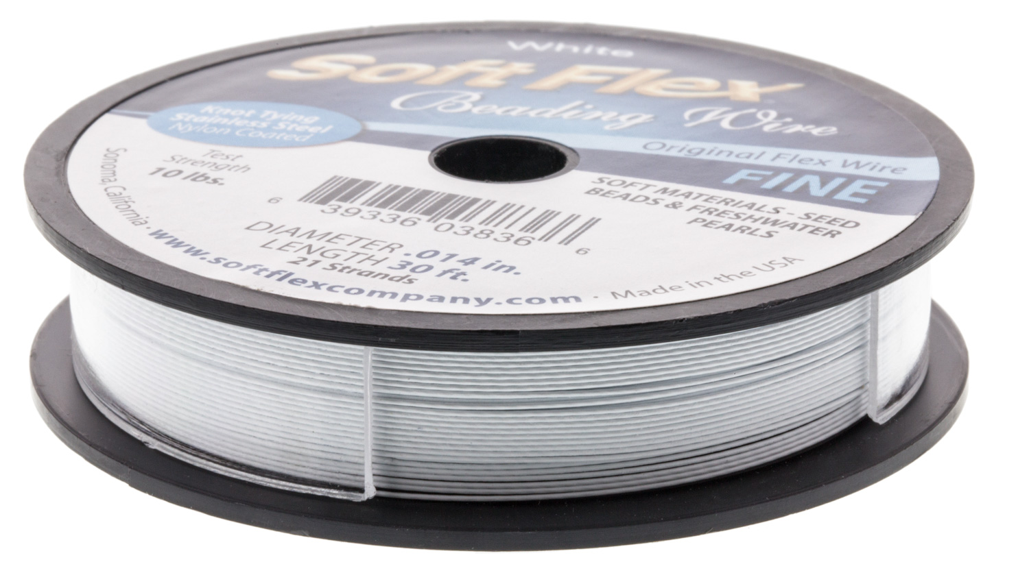 Soft Flex Wire .014 Dia, 30ft Sp-white 654207112501 | eBay